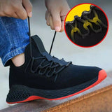2020 hot Newly Safety Work Shoe Footwear with Steel Tip Breathable Anti-slip Puncture Proof for Men