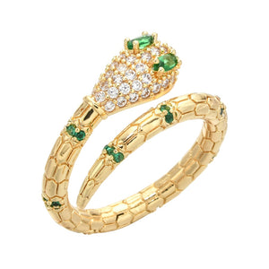 2020 new fashion elegant serpentine opening adjustable women/men wedding party fashion jewelry ring JZ-050