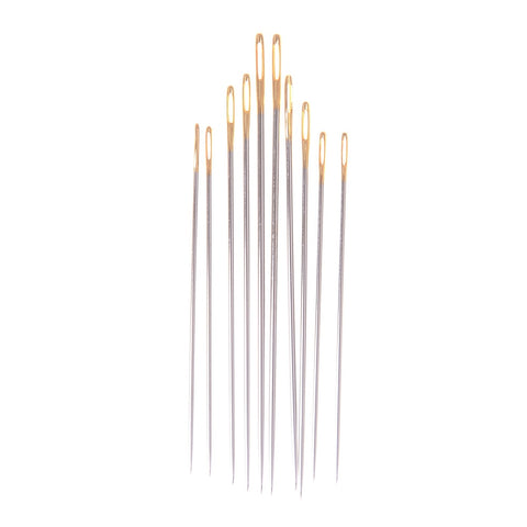20Pcs DIY Tools Needles Leather Craft Tools Canvas Hand Working Sewing Stitching Pins Leathercraft Handmade Repair Home Art