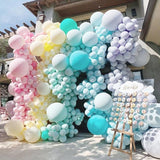 30pcs 5 Inch Macarons Color Pastel Candy Balloons Latex Round Helium Baloons For Birthday Party - thefashionique