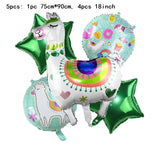 40inch Number 1 Balloon Baby Boy Girl Letter Cartoon Unicorn Truck Balloons for One Year Old 1st Birthday Party Decoration Globo - thefashionique