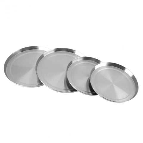 4Pcs/Set Stainless Steel Kitchen Stove Top  Covers Cooker  Kitchen Stove Cover Lid Cooking Tool Gas Hob Protector Liner - thefashionique