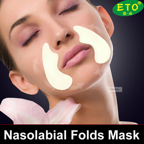 5pack Nasolabial Folds Anti-aging Anti-wrinkle Face Mask Facial Lifting Sticker whey protein acne beauty skin Care free shipping - thefashionique