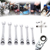 6-24mm Activities Ratchet Gears  Wrench  flexible Open End Wrenches Repair Tools To Bike Torque Wrench Spanner for car repair - thefashionique