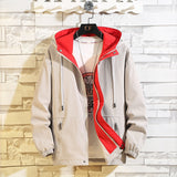 6XL 7XL 8XL Plus Size Mens Jackets Spring Autumn Casual Fashion Bomber Jacket Men