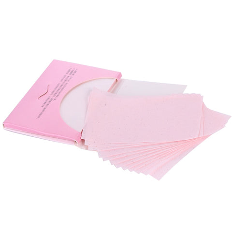 80pcs Oil Absorbing Paper Facial Absorbent Paper Oil Control Wipes Absorbing Sheet Matcha Oily Face Blotting Matting Tissue - thefashionique