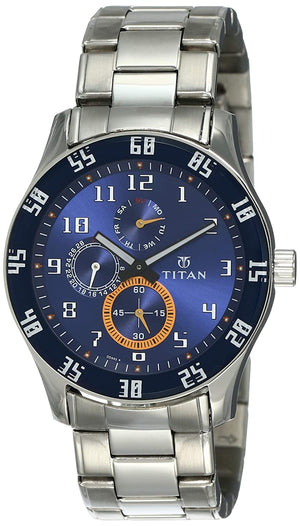 Titan Octane Analog Blue Dial Men's Watch NL1632SM03 / 1632SM03