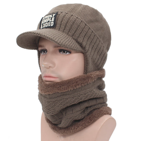 568c76b579d from  11.51 USD. YOUBOME Knitted Hat Scarf Winter Skullies Beanies Female  Winter Hats ...