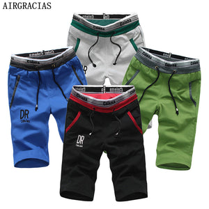 AIRGRACIAS 4Pcs Mens Summer Beach Shorts Casual Men Running Sweatpants US/Euro Size S-XXL Clothing Sweat Shorts - thefashionique