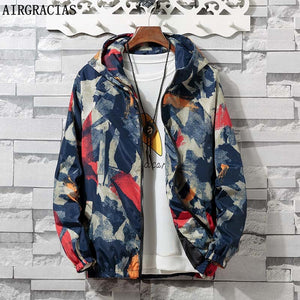 AIRGRACIAS Autumn Mens Camouflage Outwear Clothing Jacket Men Lightweight Coat Pockets Casual Coats 6 Colors S-4XL - thefashionique