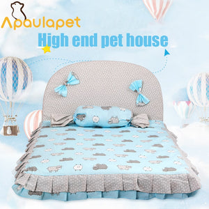 APAULAPET Pet Dog Bed Blanket  Large Bed Dog House camas para perro