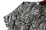 ASDS Fashion new women dresses pattern Show thin dress Zebra Stripe Double pockets WQZ14272 - thefashionique