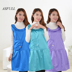 ASFULL 2017 new Korean style apron work clothes kitchen supplies household items waterproof aprons kitchen aprons Free shipping - thefashionique