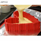 ASFULL 4 Pcs / set inventory Snakes of Magic Bake Food Grade Silicone cake molds bake diy all kinds of baking cake mold tools - thefashionique