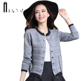 ASLTW Sweaters Woman Autumn Women Long Sleeve Sweater Cardigan Plus Size Short Design Outerwear Knitwear Cardigans - thefashionique