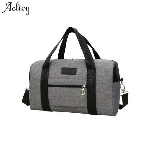Aelicy Canvas Men Travel Bags Large Capacity Women Luggage Travel Duffle Bags  New Arrival Men s Casual c0754f6b2749a