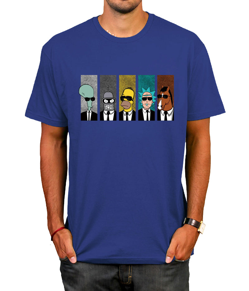 Anime rick morty t-shirt Cool TV Tee Men Tees Shirt Couple Geek BoJack Horseman Short Sleeve T Shirt Boyfriend's Tees camiseta - thefashionique