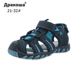 Apakowa Brand New Summer Children Beach Boys Sandals Kids Shoes Closed Toe Arch Support Sport Sandals for Boys Eu Size 21-32 - thefashionique