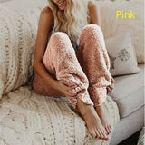 Aprmhisy S-5XL Plus Size Autumn Winter Warm Pants Women Elastic Soft Velvet Casual Streetwear Trousers - thefashionique
