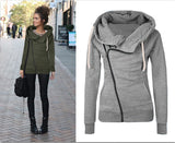 Autumn Winter Warm Women Casual Outwear Hoody Hoodie Hooded Pullover Sweatshirt Jumper Coat Top C0141 - thefashionique
