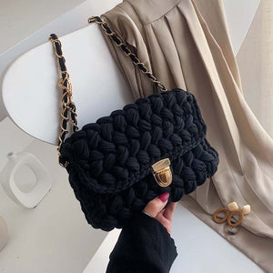 Autumn and winter small bag women's 2019 new fashion Korean version ins versatile chain Single Shoulder Messenger Bag Fashion