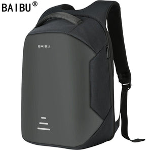 BAIBU NEW Men 15.6 Laptop Backpack Anti Theft Backpack Usb Charging  Women School Notebook Bag Oxford Waterproof Travel Backpack - thefashionique