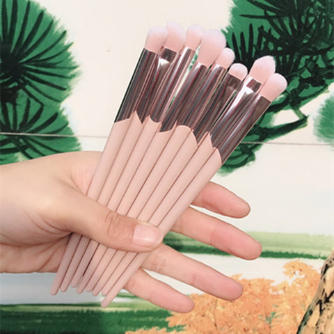 BBL 1 Piece Pink Makeup Eye Brush Eyeshadow Blending Shading Crease Tapered Highlighter Brush Beauty Essential Make Up Brushes