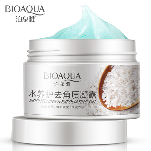 BIOAQUA Deep Exfoliator Gel Scrub Smooth Moisturizing Skin Care Whitening Face Cream anti Aging Repair Exfoliator Scrub - thefashionique
