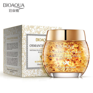 BIOAQUA Natural Osmanthus Petal Ageless Sleep Mask Facial Mask Moisturizing Whitening Anti Aging Lift Firm Men/Women Skin Care - thefashionique