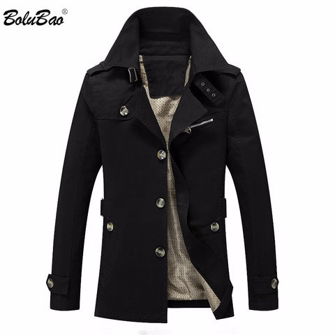BOLUBAO 2018 Men's Winter Jacket Fashion Windbreaker Quality Military Male Coats Waterproof Men Jacket Coat Brand Clothing