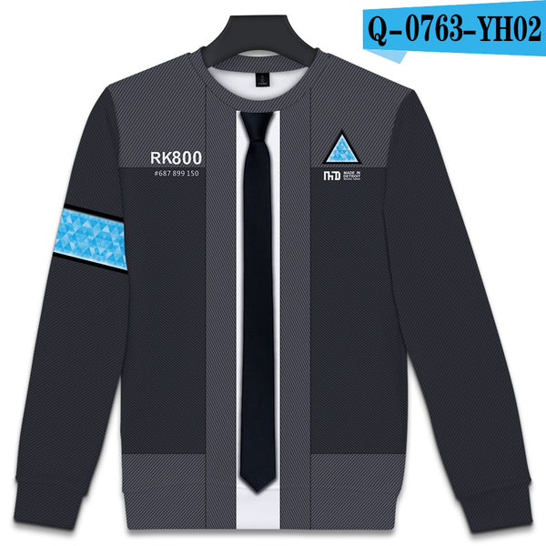 BTS Detroit: Become Human 3D Hot Sale Kpop Sweatshirts Women Fashion Harajuku Autumn Casual Long sleeve Cool Print Plus Size 4XL - thefashionique