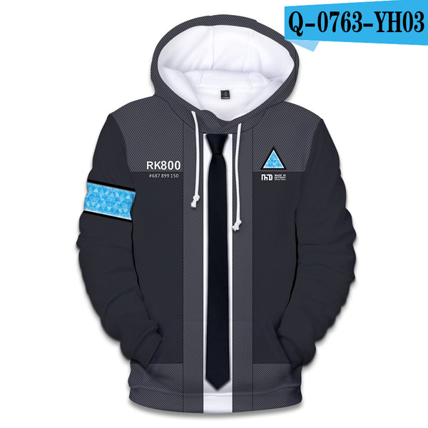 BTS Detroit: Become Human Hot Sale 3D Kpop Hoodies Women Kawaii Harajuku Autumn Casual Long sleeve Plus Size 4XL A8250-A8254 - thefashionique