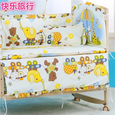 Baby Bed Bumper Cotton/Plush Baby Bedding for Newborns Toddle Children's Bed Around Linen Cot Crib Bumpers - thefashionique