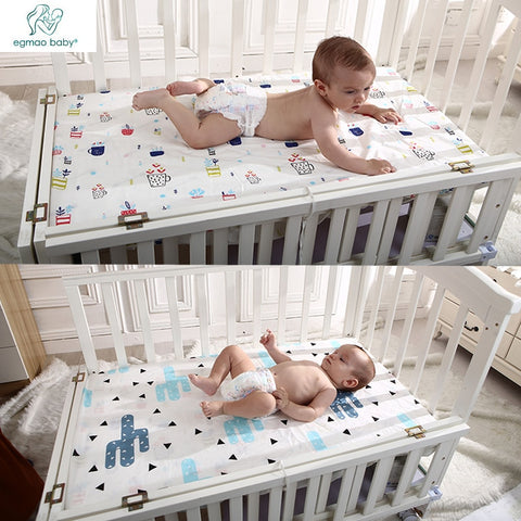 Baby Bedsheets Size 130 * 70cm 100% Cotton For All Cribs Baby Bedding Set Woven Fitted For Babies Newborn Soft Crib Sheets - thefashionique