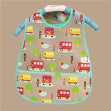 Baby Bibs EVA Waterproof Lunch Bibs Boys Girls Infants Cartoon Pattern Bibs Burp Cloths For Children Self Feeding Care - thefashionique