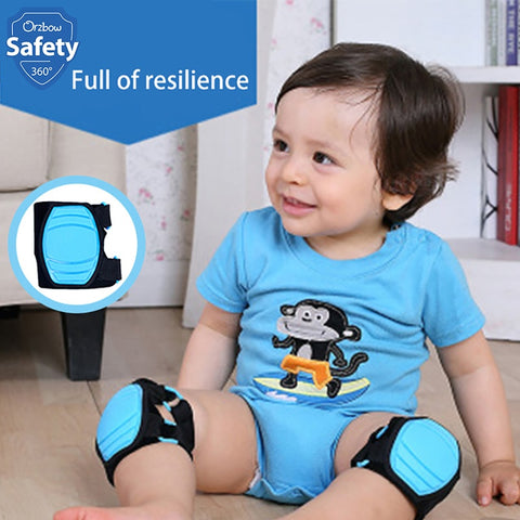 Baby Crawling Knee Pads Walk Training Protector Play Sock Safety Cushion For Newborn Infant Legs Warm Beenwarmers Football Baby - thefashionique