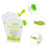 Baby Food Maker Baby Feeding Containers Storage Supplies Newborn Toddler Solid juice maker with 10 Pouches Squeez storage bag - thefashionique