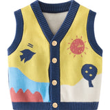 Baby Girl 2020 Winter Clothes 6 Months-2Years Knitted Vest Autumn Newborn Baby Boy Warm Sleeveless Coat Toddler Kids Babies