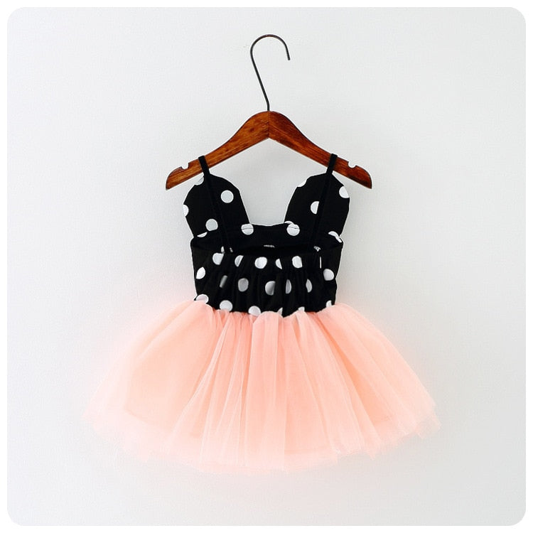 Baby Girl Dresses Spring Summer Birthday Party Mouse Mesh tutu Princess Dress For Tollder Girls Children's Costume Kids Clothing - thefashionique