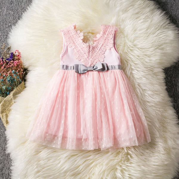 Baby Girl Princess Dress Baptism Kid Dresses for Girls 1 Year Birthday Gift Party Wedding Christening Gown Infant Clothing Bebes - thefashionique