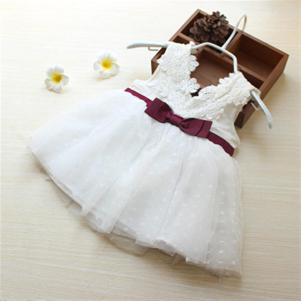 Baby Girls Dress 2018 Summer Chiffon Party Infant Dress For Girls 1-3 Year Birthday Dress Baby Girl Clothing Vestidos - thefashionique
