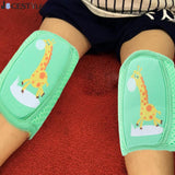 Baby Knee Pads Children's Leggings Knee Protectors Leg Warmers Cartoon Crawling Elbow Cushion Infant Toddlers Knees Protect - thefashionique