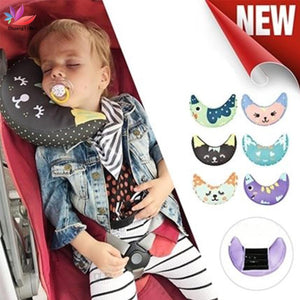Baby Pillow Kid Car Pillows Auto Safety Seat Belt Shoulder Cushion Pad Harness Protection Support Pillow For Kids Toddler M049