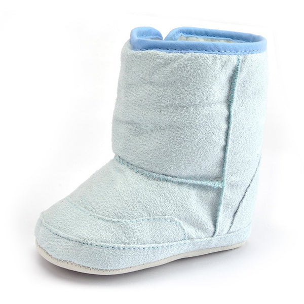 Baby Premium Soft Sole Bow Anti-Slip Mid Calf Warm Winter Infant Prewalker Toddler Snow Boots - thefashionique