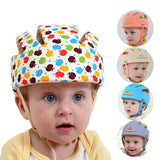 Baby Protective Head Helmet Hats for Kids Prevent Impact Walk Wrestling Sport Toddler Safety Soft Hat Boy Girls Cotton Baby Cap - thefashionique