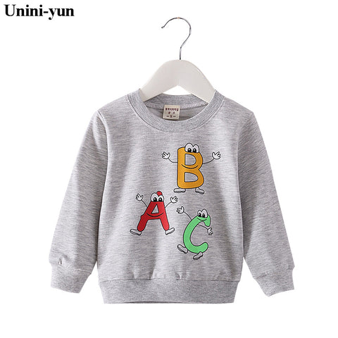 Baby Sweatshirt Spring Autumn Baby Clothes Long Sleeve Cute Cartoon Baby Girls Boys Tops Casual Cotton Clothing Baby Clothes