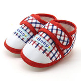 Baby shoes newborn Baby Boys Girls Soft Sole Prewalker Warm Casual Flats Shoes Cotton Fabric  Suit for 3-12Month 17Nov14 - thefashionique