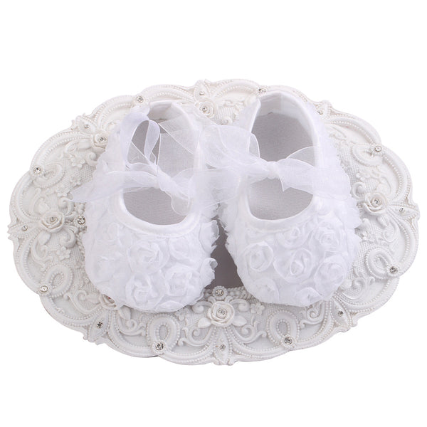Baptism White Boys Girls Baby Shoes Baby Moccasins Newborn Shoes Soft Infants Crib Shoes Sneakers First Walker Toddler shoes - thefashionique