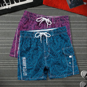 Beach Shorts Men Summer Hawaii Mens Holiday Shorts Loose Straight Comfortable Drawstring Casual Hip Hop BoardShorts Homme 4XL