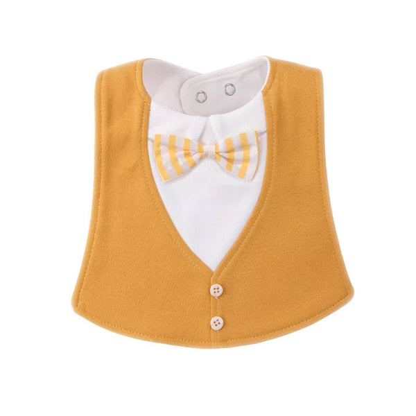Bib Baby Bibs Baberos Babador Bavoir Slabber Waterproof Cotton Stripe printing Infant Cloths 0-24 months - thefashionique